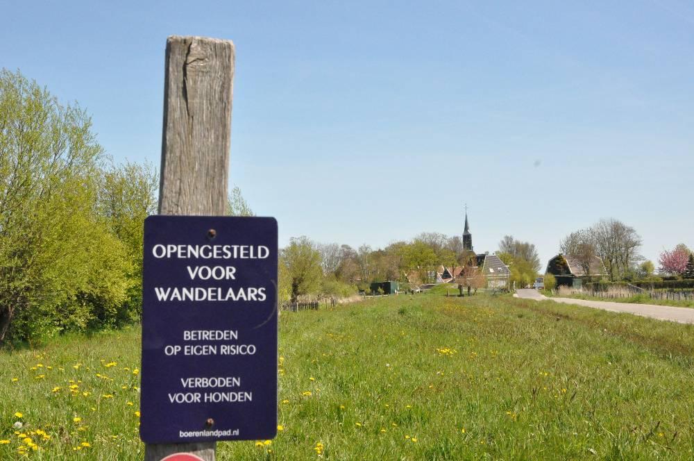 Wandelroute bij  Fort Krommeniedijk