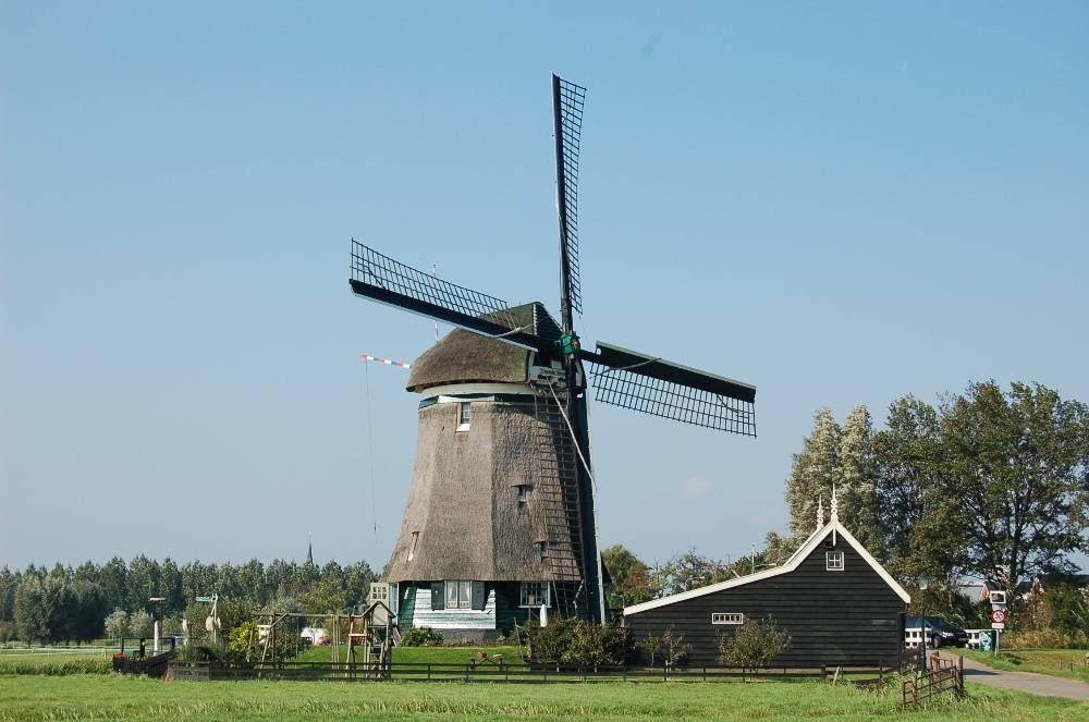 Tweede Broekermolen in Uitgeest